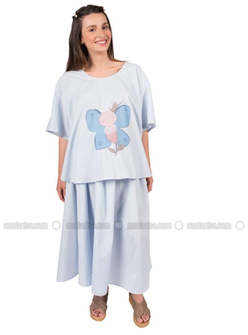 Blue - Maternity Pyjamas