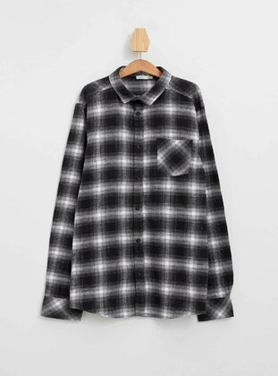 Anthracite - Boys` Shirt