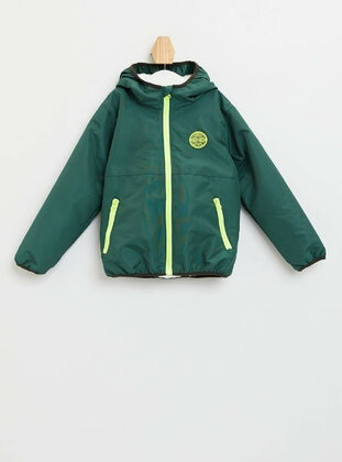 Green - Boys` Jacket