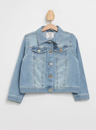 Blue - Girls` Jacket