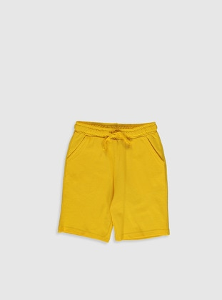 Yellow - Boys` Shorts - LC WAIKIKI