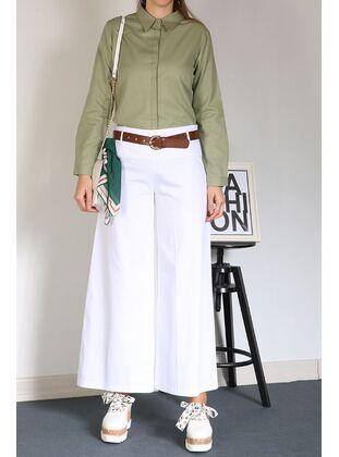 White - Pants - Allday