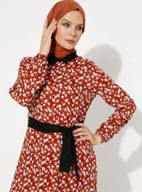 Cinnamon - Viscose - Loungewear Dresses