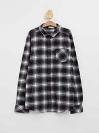 Anthracite - Boys` Shirt