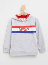 Gray - Boys` Sweatshirt