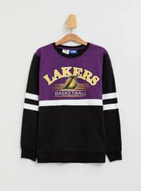 Black - Boys` Sweatshirt