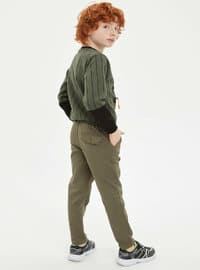 Green - Boys` Pants
