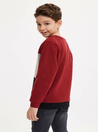 Red - Boys` Sweatshirt