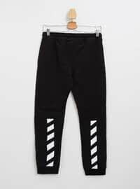 Black - Boys` Pants