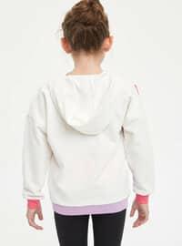 Ecru - Girls` Sweatshirt