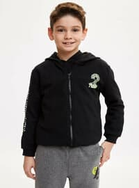 Black - Boys` Cardigan