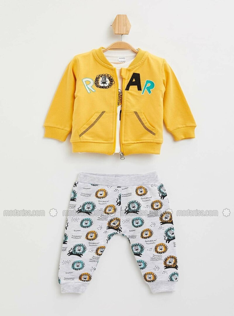 Yellow - Baby Suit