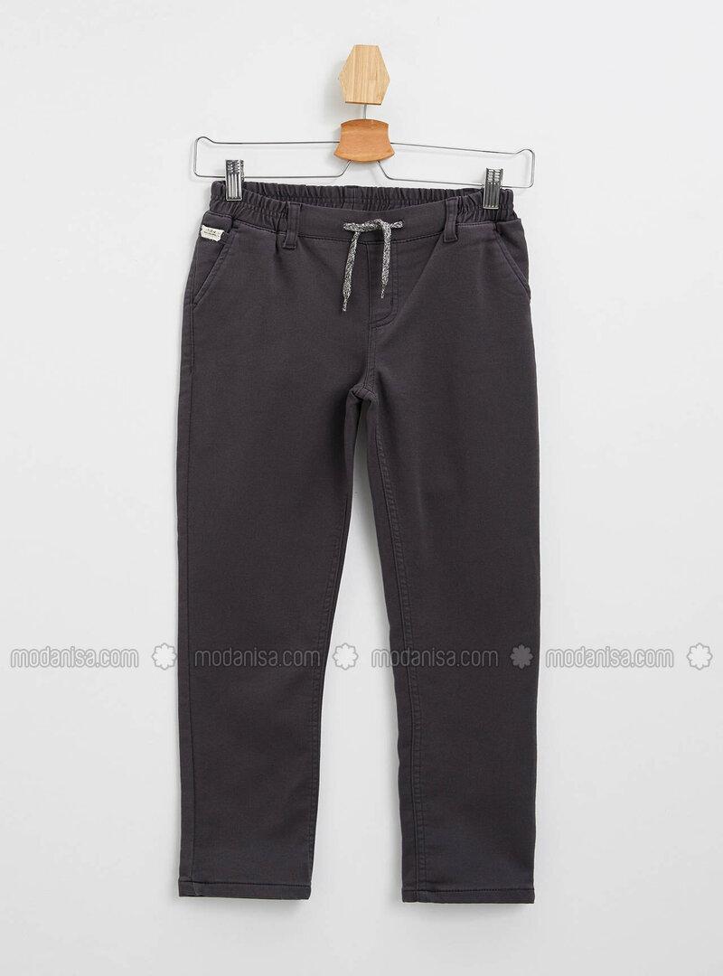 Anthracite - Boys` Pants