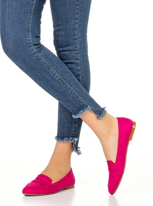 Fuchsia - Flat - Flat Shoes