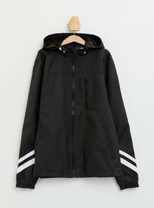 Black - Boys` Raincoat - DeFacto