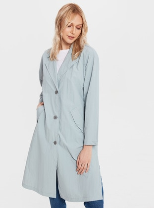 Blue - Trench Coat
