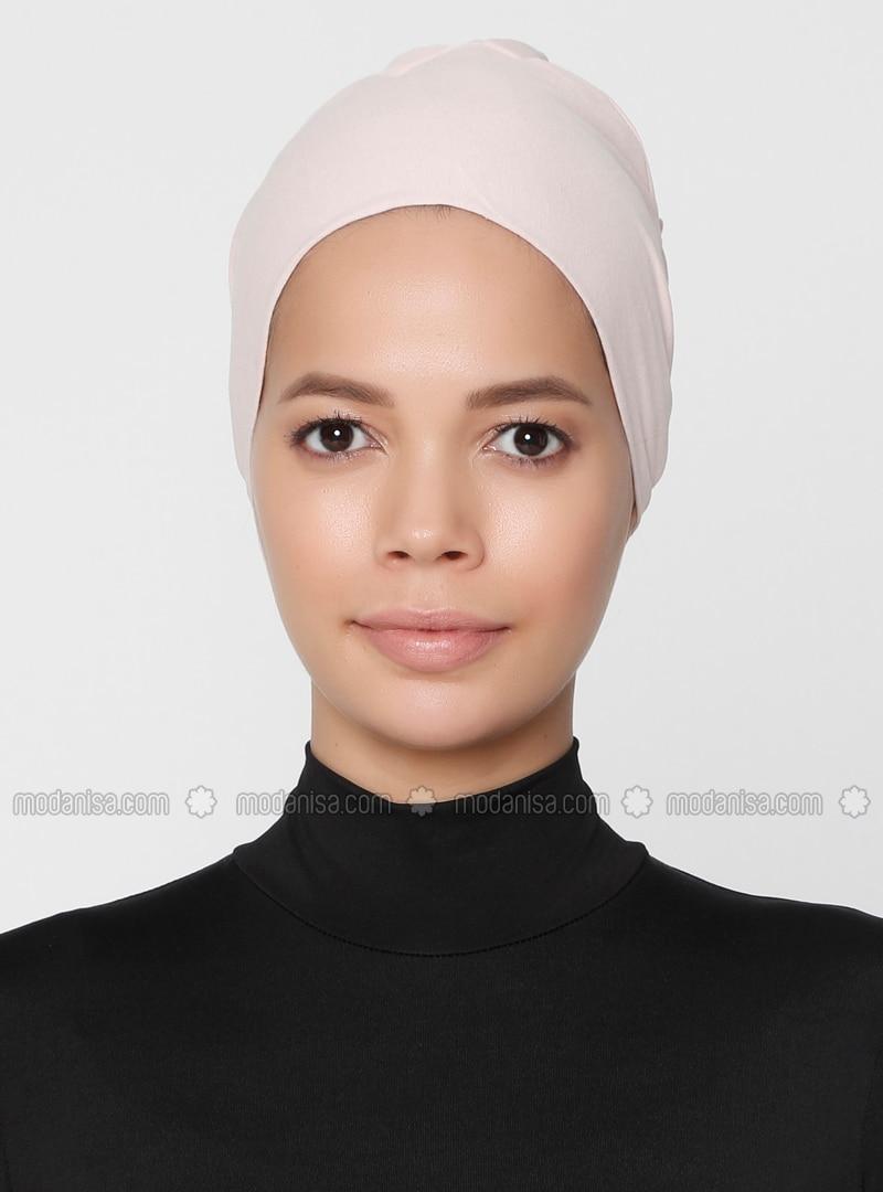 Powder - Lace up - Non-slip undercap - Combed Cotton - Bonnet