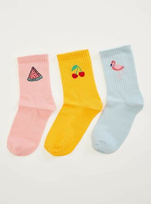 Multi - Girls` Socks - DeFacto