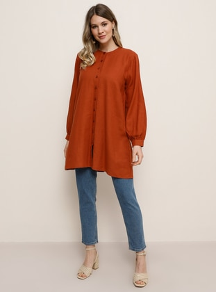 Cinnamon -  - Plus Size Tunic
