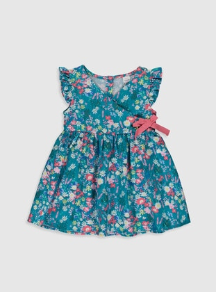 Turquoise - Baby Dress - LC WAIKIKI