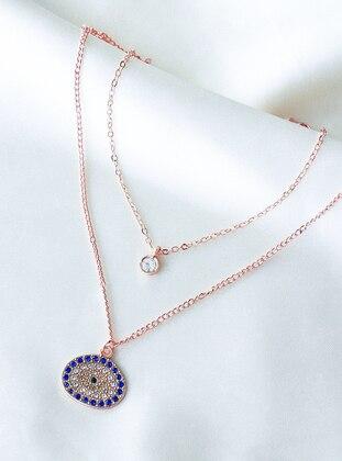 Rose - Necklace - Takıştır Bijuteri