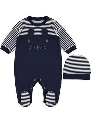 Navy Blue - Overall - Civil