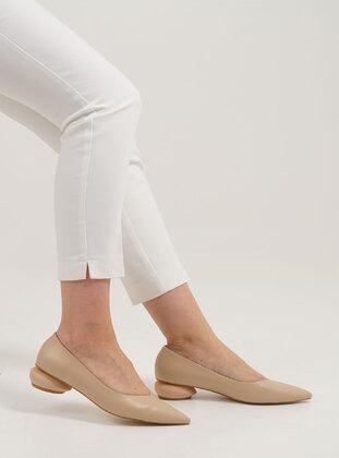 Beige - Heels