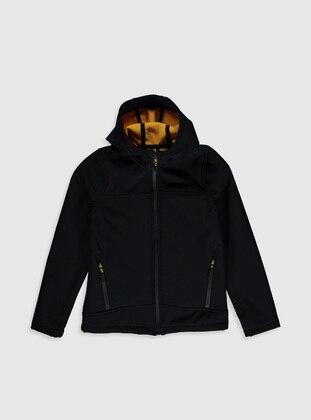 Black - Boys` Jacket