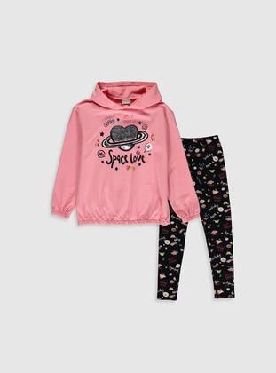 Pink - Girls` Suit - LC WAIKIKI