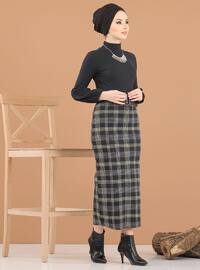 Hardal - Siyah - Çok renkli - Astarsız kumaş - - Kostüm
