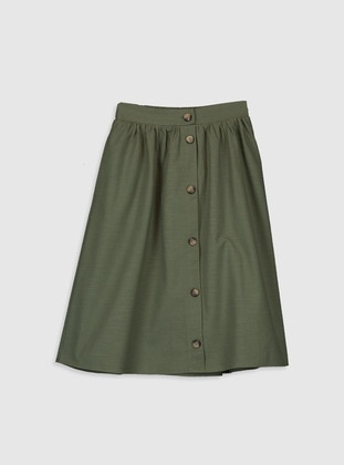 Khaki - Girls` Skirt - LC WAIKIKI