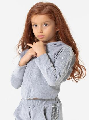 Multi - Girls` Sweatshirt