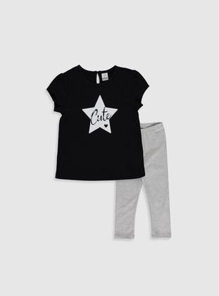Black - Baby Suit - LC WAIKIKI