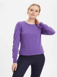 Purple - Jumper