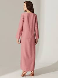 Pink - Maternity Dress