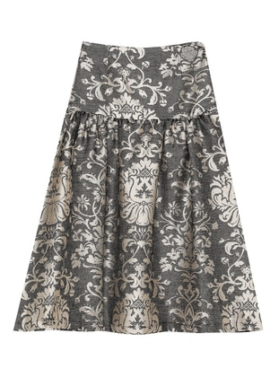 Gold - Multi - Multi - Unlined - Skirt