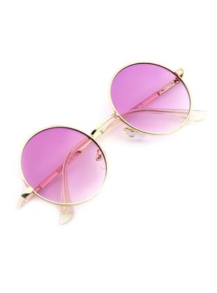 Gold - Lilac - Sunglasses