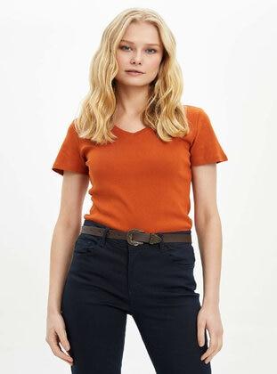 Brown - T-Shirt