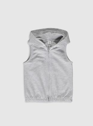 Gray - Baby Vest