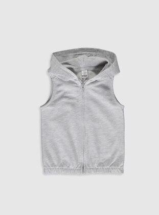 Gray - Baby Vest - LC WAIKIKI