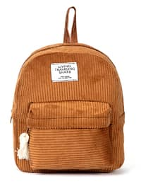 Tan - Backpack - Backpacks