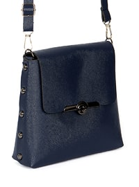 Navy Blue - Crossbody - Satchel - Shoulder Bags