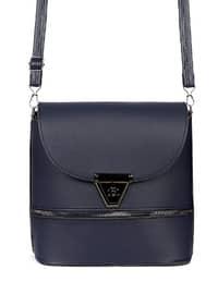 Navy Blue - Crossbody - Satchel - Shoulder Bags