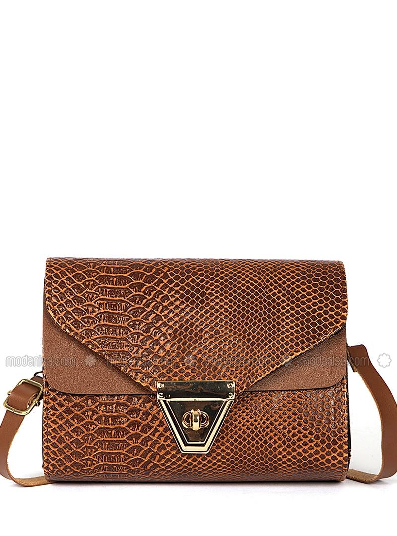 Tan - Crossbody - Satchel - Shoulder Bags
