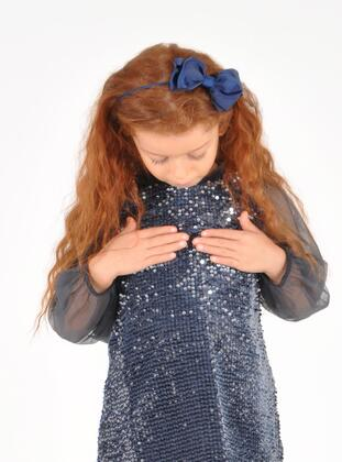 Navy Blue - Girls` Accessory