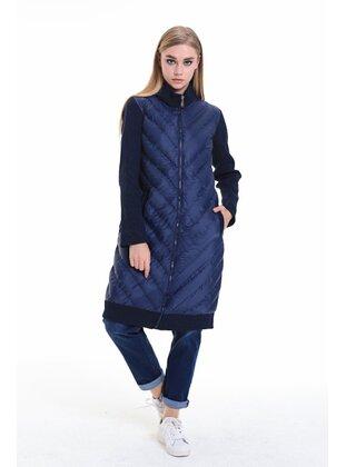Navy Blue - Coat