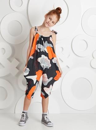 Multi - Girls` Salopettes & Jumpsuits
