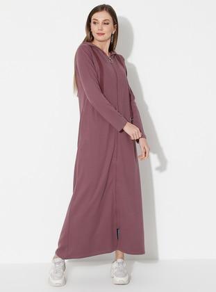 Lilac - Unlined -  - Abaya