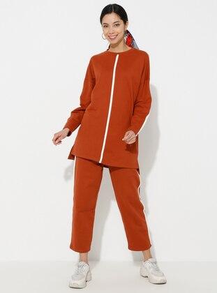 Terra Cotta - Unlined -  - Suit