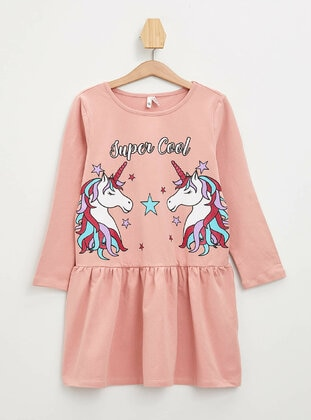 Pink - Girls` Dress